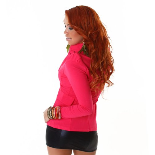 Young-Fashion -  Giacca  - Maniche lunghe  - Donna Pink