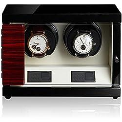 Luxwinder Uhrenbeweger Flint LV2 für 2 Uhren by Modalo 6202622 makassar