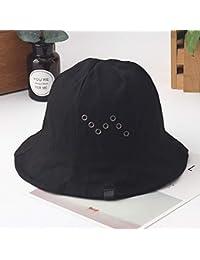 Y-XM Lona Cuenca Sombreros Color sólido Anti-UV Cangilón Sombreros Plegable  Gorra para e87af636724