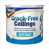 Polycell Crack–gratuit modulaires–Lisse Mat 2.5L