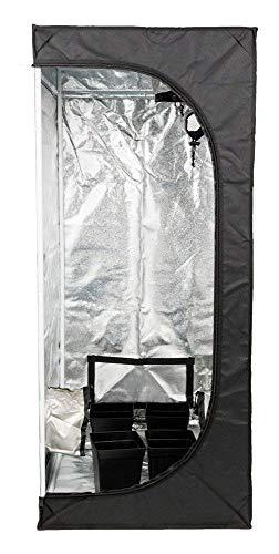 Senua Croissance de Tentes pour l'intérieur Jeunes Plants de Propagation des Clones 600 Mylar - 50 x 50 x 100 cm