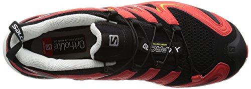 Salomon XA Pro 3D - Chaussures de Running Compétition homme Marron - Brown (Black/Radiant Red/Corona Yellow)