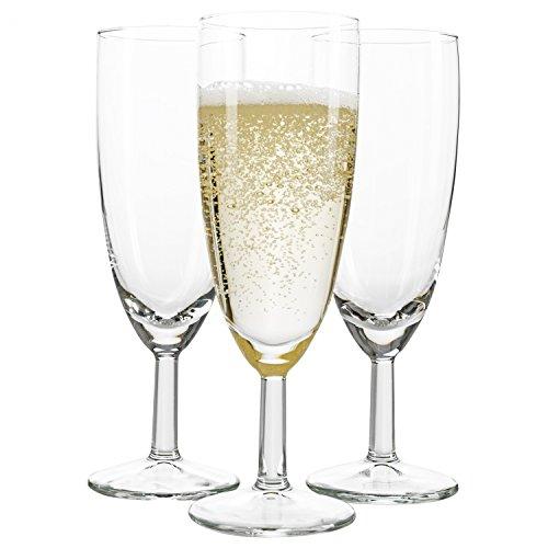ktglas Royalty Standard, 18 cl, Ø 50 mm, H 160 mm, Sektflöte, Kelchglas, Champagner-u. Prosecco-Glas, Partyglas, glasklar, Gastronomie ()