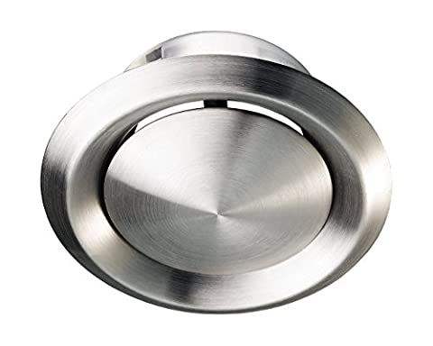 Stainless Steel Metal Ceiling Mounted Round Air Valve Vent Grill,