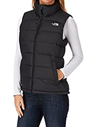 The North Face - Chaleco para mujer, tamaño L, color tnf negro