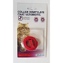 Vitalveto - Collar antiparasitario para gatos, Rojo