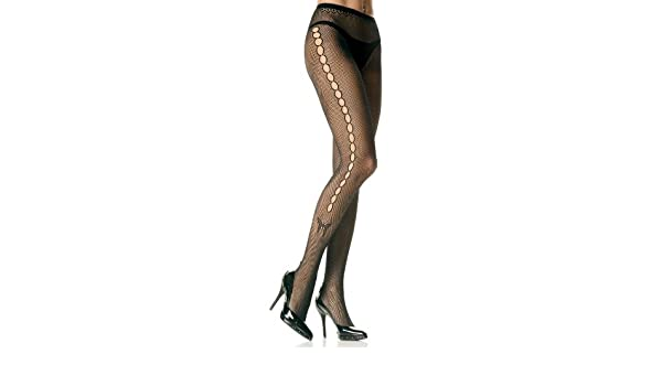 dcccf29a64859 Seamless Lycra Fishnet Tights with Open Hole Butterfly Side, Black, One  Size (8 To 14): Amazon.co.uk: Clothing
