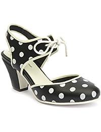 Lola Ramona - Zapatos de Vestir para Mujer Negro Negro