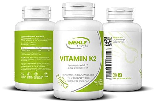 Zoom IMG-2 vitamina k2 mk7 k2vital 365