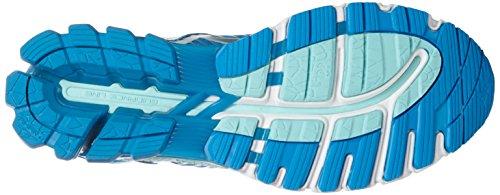 Asics Gel-Kinsei 6, Scarpe da Ginnastica Donna Multicolore (Diva Blue/Silver/Aqua Splash)