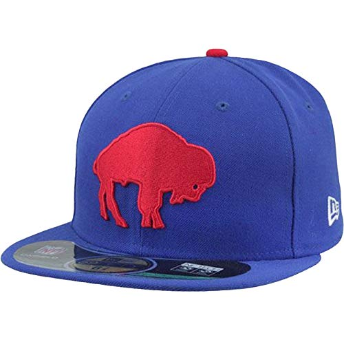 New Era NFL BUFFALO BILLS Authentic On Field 59FIFTY Classic Game Cap, Größe:7 1/8