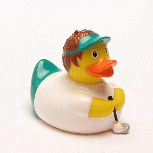 Golf Badeente I Quietscheente I Duckshop I L: 7,5 cm