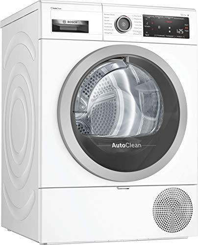 Bosch WTX87M40 Serie 8 Wärmepumpentrockner / A+++ / 176 kWh/Jahr / 8 kg / weiß mit Glastür / Smart Dry / HomeConnect
