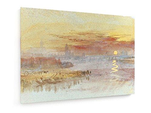 William Turner - Der Scharlachrote Sonnenuntergang - Aquarell um 1830-40 - 70x50 cm -...