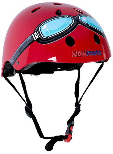 Kiddimoto Helmets - Kiddimoto Kids Helmet - Red...