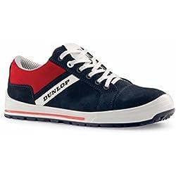 Dunlop Street Response - Zapatos de protección laboral S1P SRC, talla 46, color azul