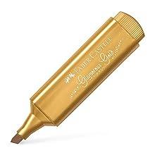 Faber-Castell Textliner 46 Metallic Glamorous Gold Highlighter Pen - Box of 10