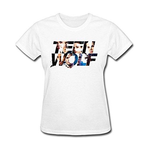 Huserd Women's Teen Wolf Scott McCall T-shirt