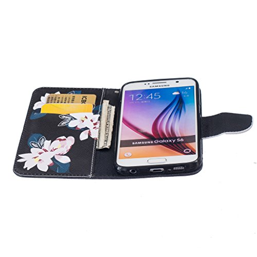 Qimmortal, Borsa bambini Pink Butterfly iPhone 7 Black Lily