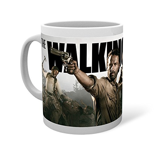 Walking Dead Movie Banner Tasse mit Rick Grimes -