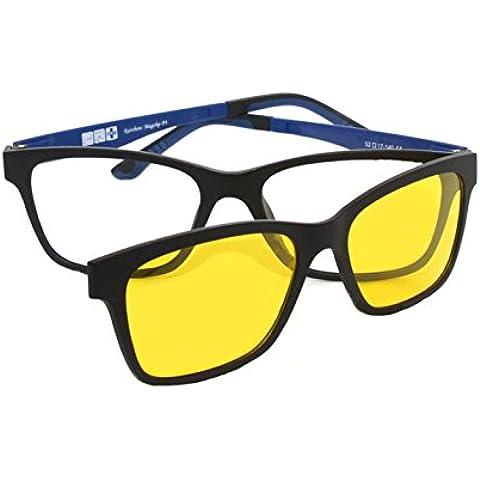 Montatura Occhiali da Vista con Clip Magnetiche Lenti Polarizzati/Occhiali da Sole Rainbow MagClip®RMCG