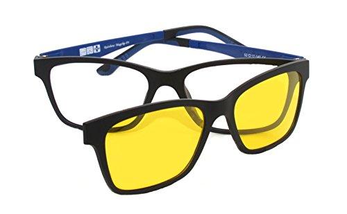 selezione premium fb351 e36f4 Montatura Occhiali da Vista con Clip Magnetiche Lenti ...