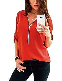 klassische Stile großer Rabatt Sonderpreis für Suchergebnis auf Amazon.de für: rote bluse - Blusen ...