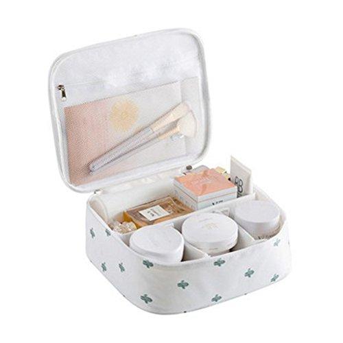 Beauty Case da Viaggio Borsa da Toilette Tuscall Borsa da Viaggio Impemeabile Ripiegabile Cosmetico Bag Accesori da viaggio Cactus 1