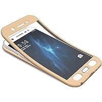 Galaxy J5 2016 Hülle,Galaxy J5 2016 360 Grad Hülle + Panzerglas Schutzfolie,Surakey 3 in 1 TPU Silikon Schutzhülle... preisvergleich bei billige-tabletten.eu