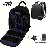 Brain Freezer J DSLR SLR Shoulder Backpack Case for Canon, Nikon, Sigma and Olympus Camera (Dark Blue)