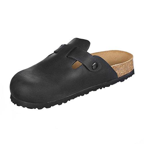JOE N JOYCE Amsterdam Pelle pantofola Normale Black