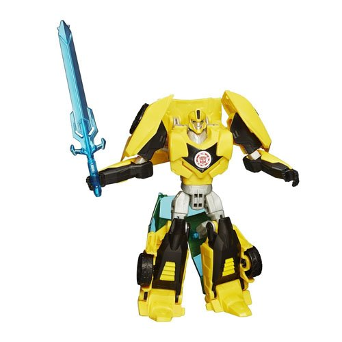 Hasbro Transformers B0907ES0 - Robots In Disguise Warrior Bumblebee, Actionfigur Preisvergleich