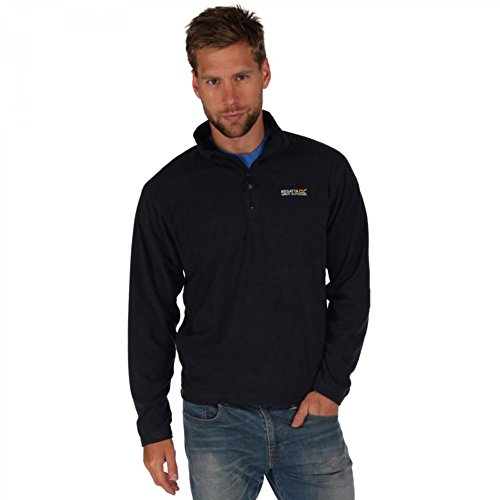 Regatta Thompson Men's Half Zip Overhead-mit Anti-Pilling Fleece Gr. XXXXX-Large, Blau - Navy