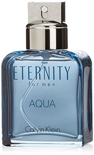 Calvin Klein Eternity Men Aqua, homme/man, Eau de Toilette, 100 - Pflaumen Gurke