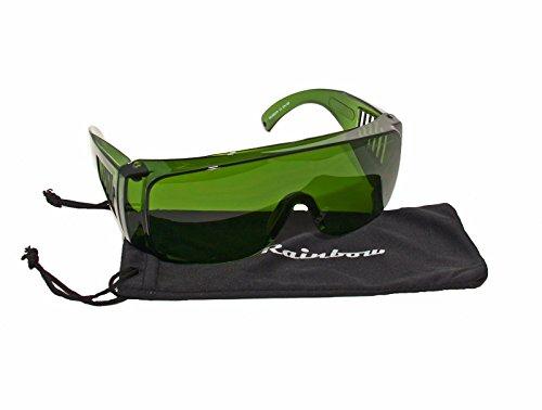 IPL/HPL-Schutzbrille 190 - 1800nm, Shade 4+/Neoprene Brillenband Rainbow/ Rainbow® IPL2
