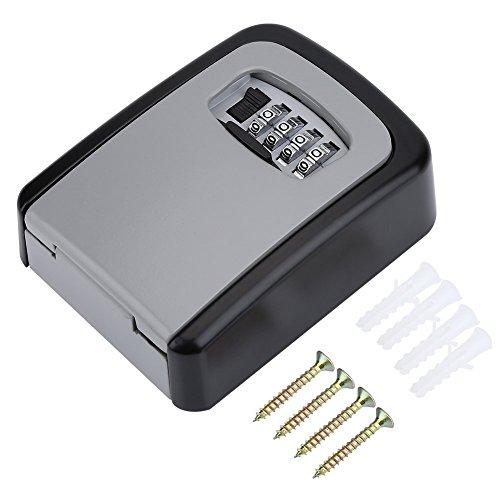 Caja Fuerte Caja Contraseña Almacenamiento Clave Combinación de Código de 4 Dígitos...