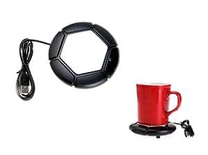 Réchaud tasse uSB, couvre-cafetières, bureau, pC, ordinateur portable, chauffe-tasse, thé, café