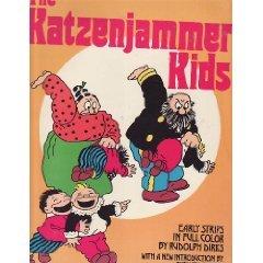 Katzenjammer Kids por Rudolph Dirks