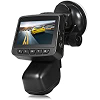 ZEEPIN Auto Cámara Dashcam WiFi 1080P con 150 ° Gran Angular 2,45 pulgadas IPS de la pantalla Sensor G Loop Función de grabación de detección de movimiento Park Monitor