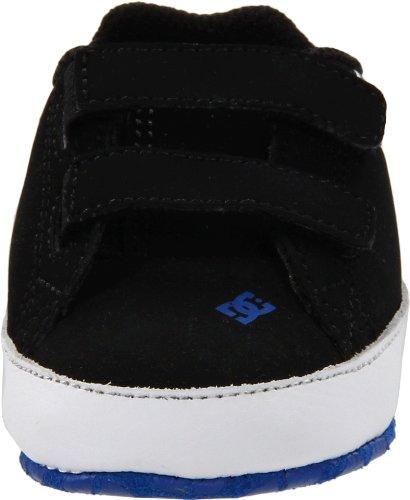 DC Shoes COURT GRAFFIK CRIB D0320039, Chaussures bébé garçon Noir-TR-F4-409