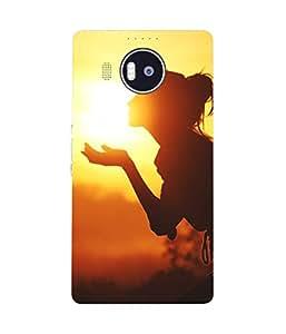 Sun Kissed Microsoft Lumia 950 XL Case