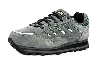 Lakhani 111 GREYPHITE Men Leather Sports Running Shoe (10 UK)