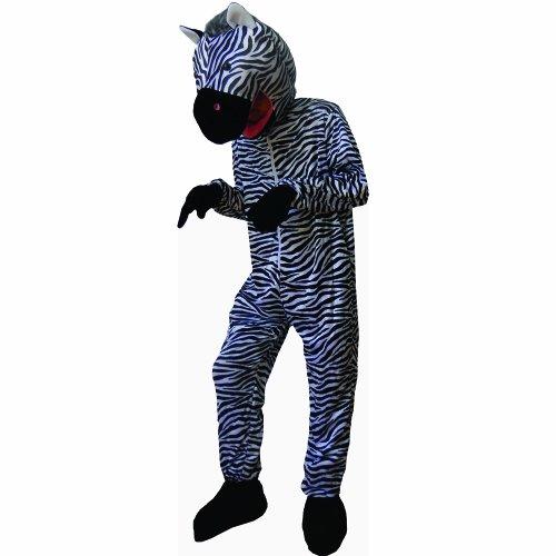Dress Up America Süßes gestreiftes Zebra Kostüm (Kleinkind Zebra Kostüm Halloween)