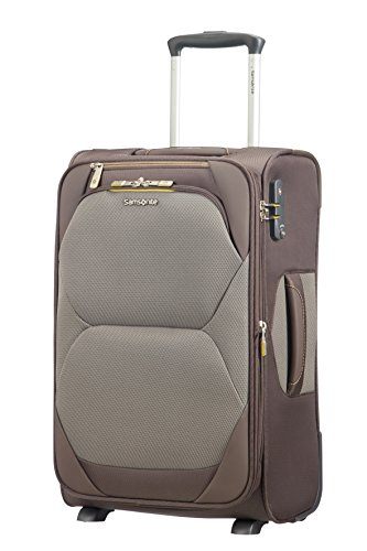 SAMSONITE Dynamore Upright 55/20 Expandable Length 35Cm - 2.4 KG, 37.5 L Bagaglio a mano, 55 cm, 43 liters, Marrone (Taupe)