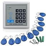 SODIAL(R) RFID Tueroeffner Codeschloss Zutrittskontrolle+Transponde