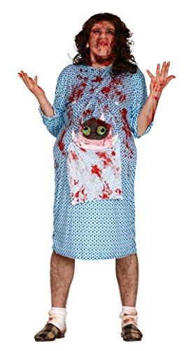 Disfraz de Embarazada zombie talla L
