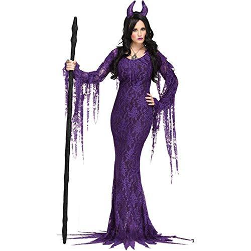 Circlefly Halloween lila Teufel Kostüme spielen Hexe Kostüme Vampire Dress Up Uniform Party Kostüme