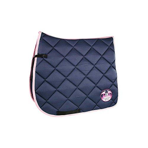 EQuest Flamingo Schabracke Cotton.Maxx Patch Größe: Schabracke VS/Springen Farbe: Marine