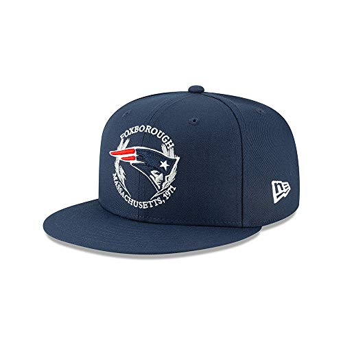 New Era - NFL New England Patriots Draft 2019 On-Stage 9Fifty Snapback Cap - Blau