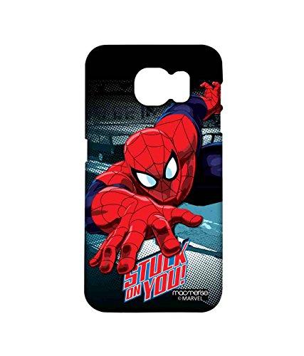 Macmerise Licensed Marvel Comics Spiderman Premium Printed Back cover Case for Samsung Note 5
